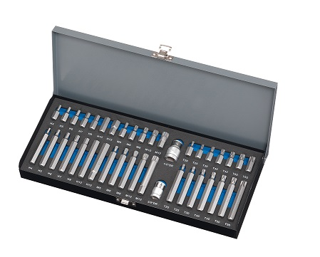 40 Pieces Professional Power BIT Set Torx Hex