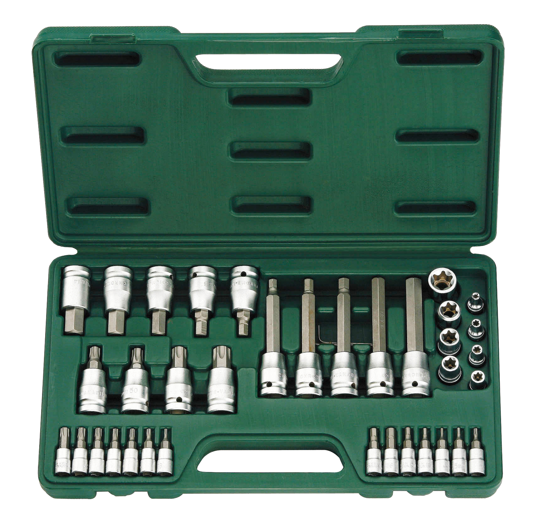 41 Pieces CR-V Bit Socket SET